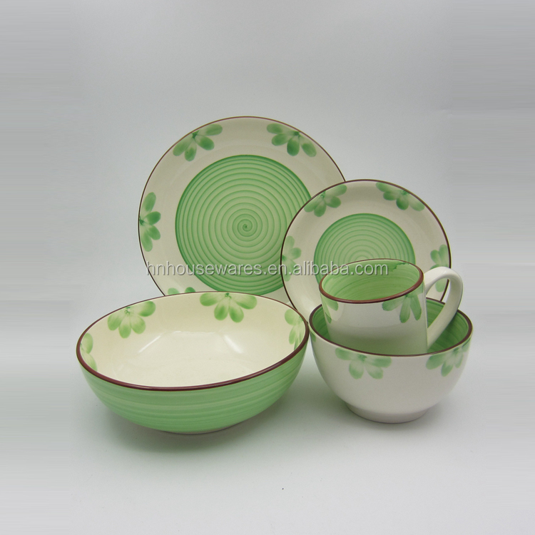 wholesale top choice dinnerware ceramic corelle dinner set rustic