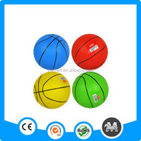 Plastic inflatable PVC basketball for kids
