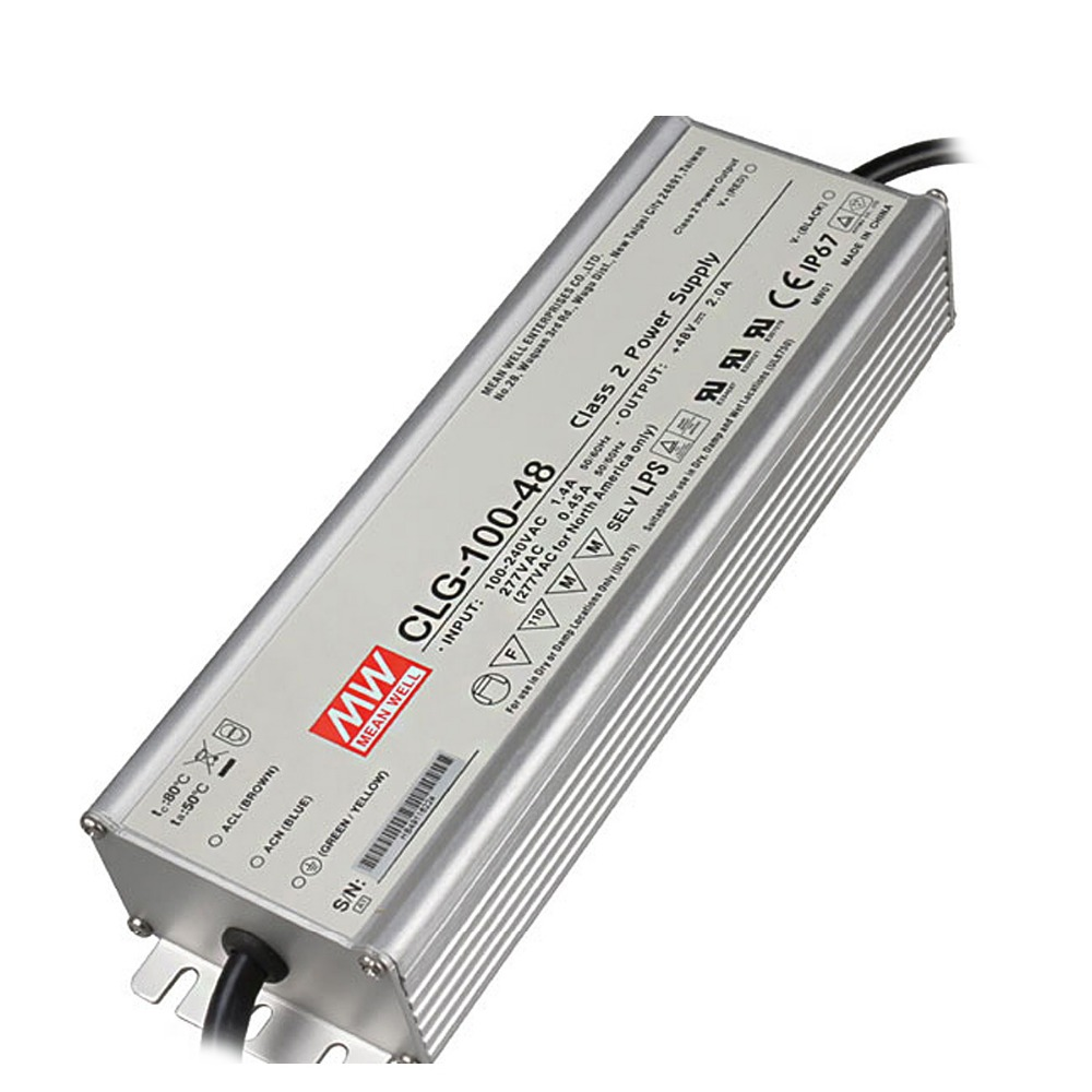 MeanWell CLG 150w 20v waterproof electronic 3 years warranty led driver