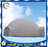 2016 Strong Advertising PVC inflatable tent for sale, PVC Inflatable Ventilated Dome Tent