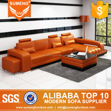 italy modern lifestyle living room reasonable price leather sofa on sale