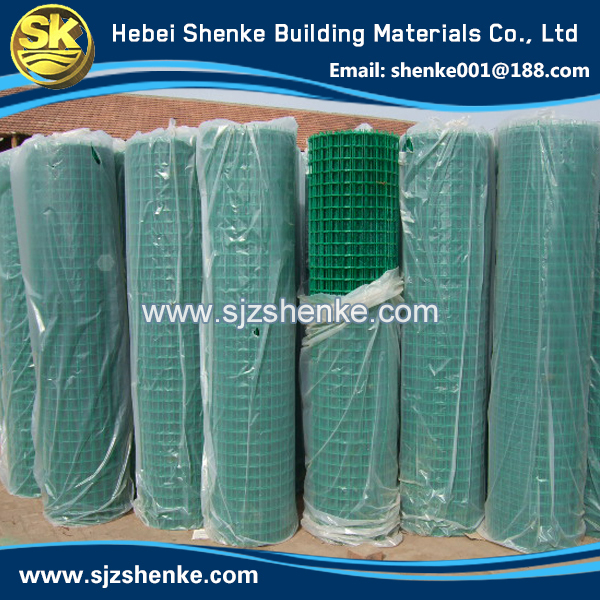 the most novel 1x1 pvc coated welded wire mesh