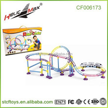 2015 kids electric car lighting track plastic bullet train toy electric trains children size trains railway toy