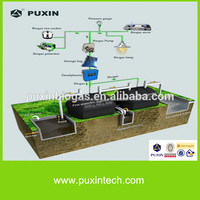 Plastic septic tank for hotel waste water treatment