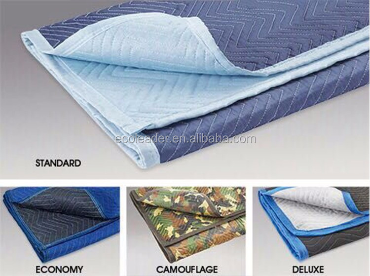 72'*80' polyester moving blanket with ce furniture moving blanket