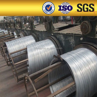 High flexibility spring steel wire/galvanized iron wire for armoring cable