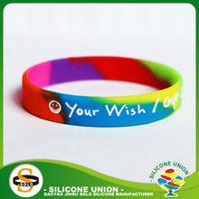 Link park epoxy silicone wristbands no minimum hand band
