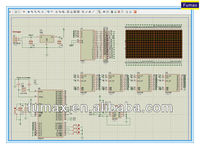 Professional LED dot-matrix display board design