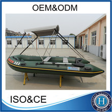 (CE)Aluminum inflatable pontoon fishing boat 2012