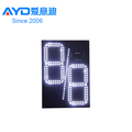 IP65 REGULAR Time Tempreture Digit 7 Segment Electronics Scoreboard Wireless Gas Station LED Price Sign LED Open Sign 20 Inch