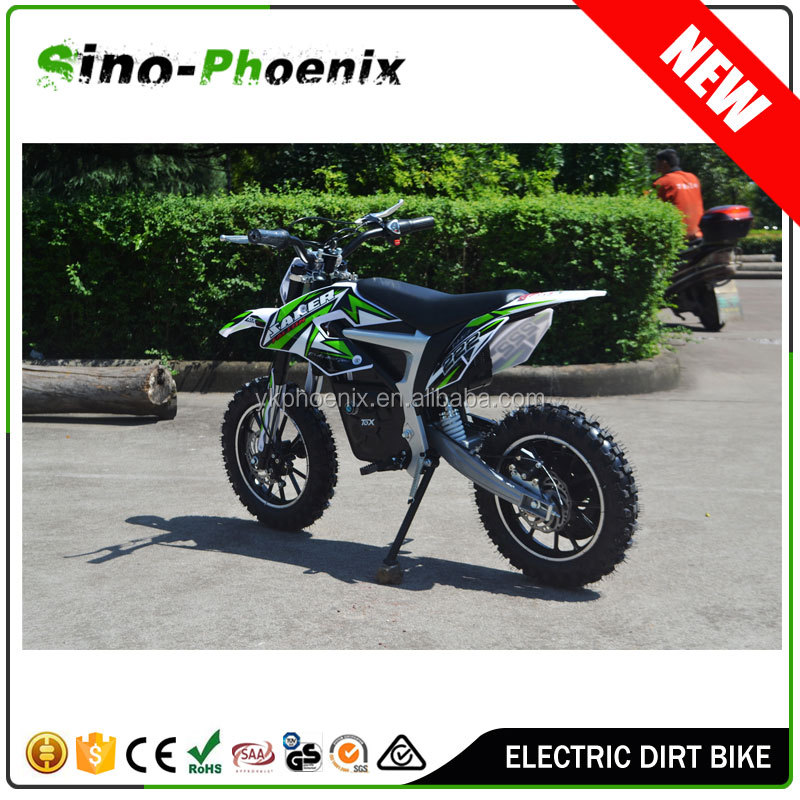 2016 cheap adult 500w mini cross motorcycle with 24v12Ah lead-acid battery ( PN-DB250E1 -24V )