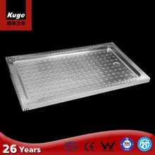 stainless steel outdoor shower tray