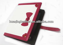 for ipad 4 cover with wallet and stand using high quality PU leather