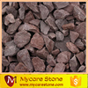 red crushed stone