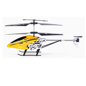 China promotion 2 colors 3.5 channel metal small size long range rc helicopter