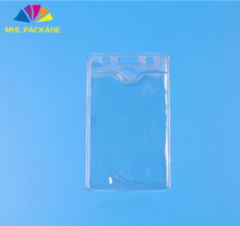 Clear PVC Sheet ID Card Case Printing Plastic Business card Bag
