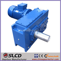 H series heavy duty helical shaft mounted gearbox for wind turbine gearbox