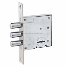 [812]Russian Ukraine iron High Quality Blade Lock Body Burglar Proof Doors lamina lockbody locks 5 zinc keys 8550 mortise lock