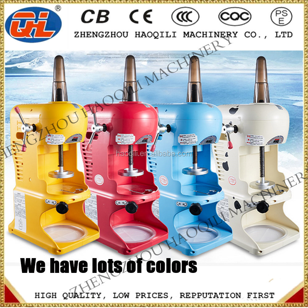 Factory directly sales snow block ice machine make shaved ice block machine