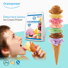 Oceanpower vanilla hard ice cream powder