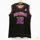 Custom Basketball Jersey Black And Red Sublimation Basketball uniform
