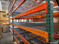 Warehouse Use Selective Pallet Multi-tier storehouse US Tear Drop Beam