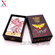 Gold Foil Custom Printing Glossy Finishing Oracle Tarot Card Decks
