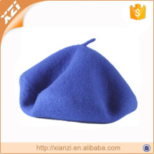 Manufacturer wholesale hat warm winter knit hat girls wool beret hats