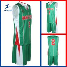 Healong All Over Sublimation Cheap Brand Basketball Jogging Suit