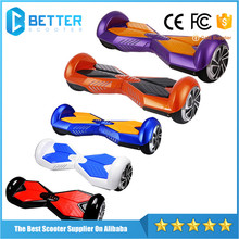 Environment Friendly 6.5 Inch Smart Off Road Electric Fastest Hoverboard With Bluetooth