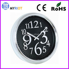 15Inch Best Quality Plastic 3D Wall Mounted Clock Funny Design