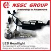 NSSC 2015 POWERED LED HEADLIGHT DC PROJECTOR HI LOW LED ROUND CAR KIT BULB 9004