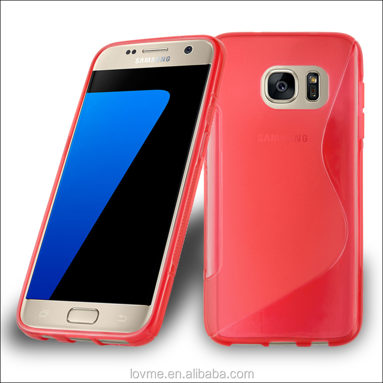 S Line Tpu Gel Case Cover For Samsung Galaxy S7