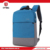 Factory direct China blue and grey high capacity laptop backpack