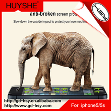 HUYSHE high quality competitive price 0.3mm 9h 2.5d tempered glass screen guard protector for iphone 5