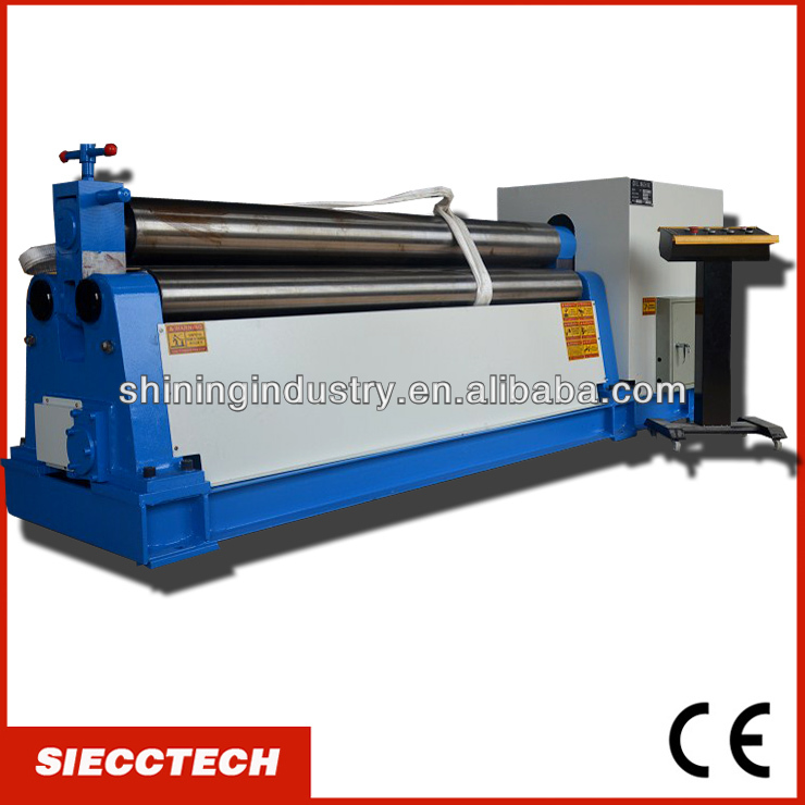 SIECC <strong>W11</strong> 8X2500 3 ROLLER PLATE ROLLING BENDING MACHINE