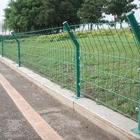 Decorative Panel Fence Double Wire Fence