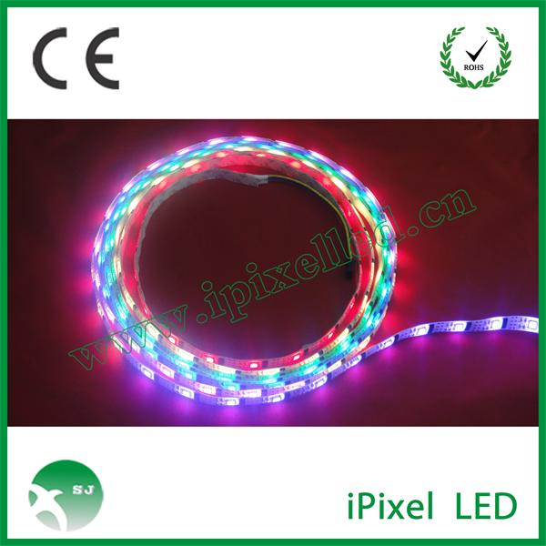 Programmable 12v smd5050 rgb led strip high lumens