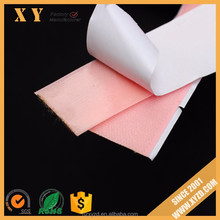 high viscosity custom size and logo adhesive hook and loop fastener tape with glue