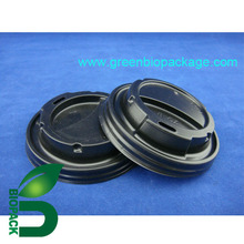 Disposable PLA cup lid for paper cup