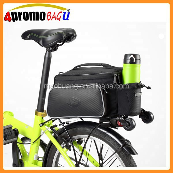Waterproof cycling mountain road bicycle bike rear rack back seat bag, pouch outdoor traveling pannier