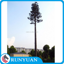 Hot-dip Galvanization electric pole for Telecommunication Steel Monopole Tower