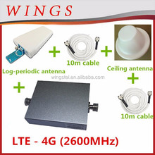 3g 4g lte repeater 2600Mhz lte 4g signal booster repeater amplifier indoor signal power amplifier
