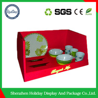 optical shop design bakery display counter promotion items Creative Cardboard