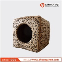 folding Yurt Style cat Bed Pet House