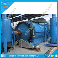 Environmental Friendly Pyrolysis Plant For Tyre Plastic And Rubber Getting Raw Oil