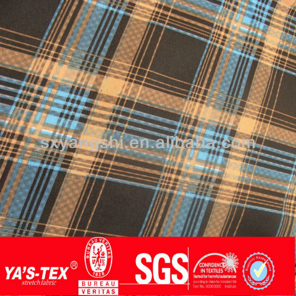 YA'S-TEX High Quality Cheap Price Waterproof 4 Way Spandex Polyester Material Printed Board Short Fabric
