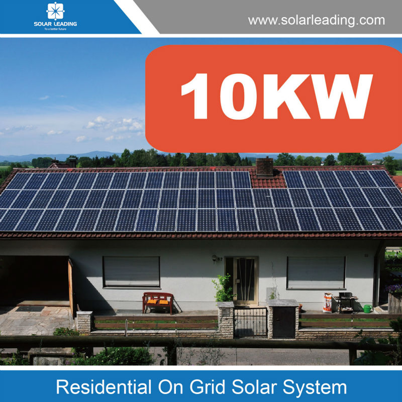 10kw Grid Tie Solar System Also Called 10kw Home Solar