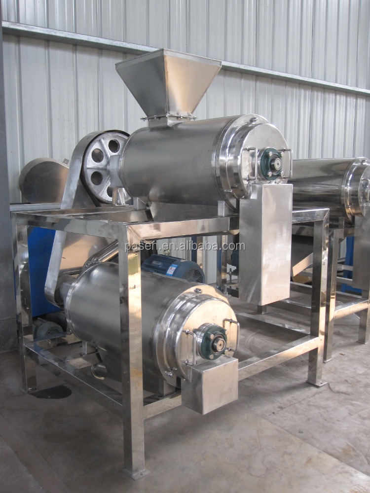 Vegetable Pulping Machine / Mango Pulp Making Machine Price / Less Nutrient Loss Pulping Machine