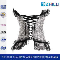 New style super quality body building cheap corsets and bustiers